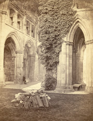 Melrose Abbey, Interior